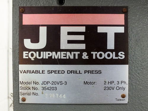 jet jdp 20vs 3 variable speed floor drill press 230vac 3 phase 2hp 3.1297__86910.1490312875?c=2 jet jdp 20vs 3 variable speed floor drill press 230vac 3 phase 2hp  at bakdesigns.co