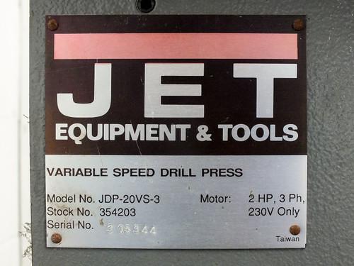 jet jdp 20vs 3 variable speed floor drill press 230vac 3 phase 2hp 3.1297__86910.1490312875?c=2 jet jdp 20vs 3 variable speed floor drill press 230vac 3 phase 2hp  at gsmportal.co