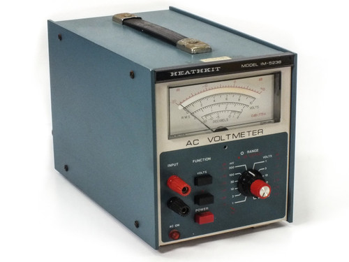 Heathkit IM-523B AC / dB Solid-State Voltmeter 300mV ~ 300V