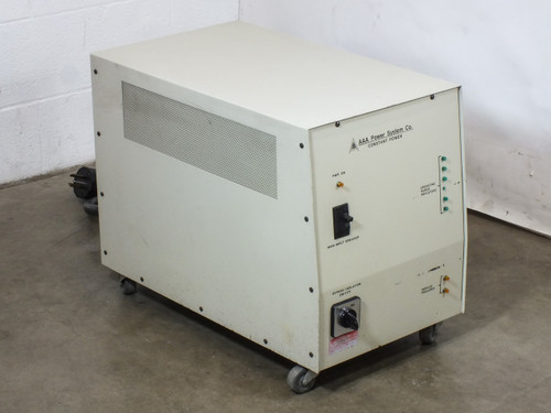 AAA Power System CP 6 AAA Power System 10kVA 208V Constant Power Supply Line Conditioner (CP 6)