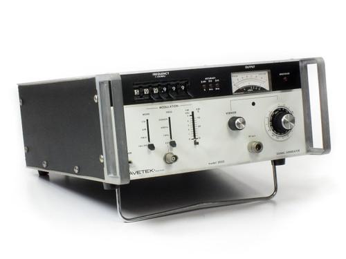Wavetek 3000 RF Signal Generator *ONE BROKEN KNOB*