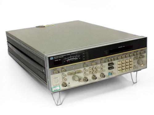 Hewlett Packard 8673B 2 to 26 GHz Syntesized Signal Generator Opt 004