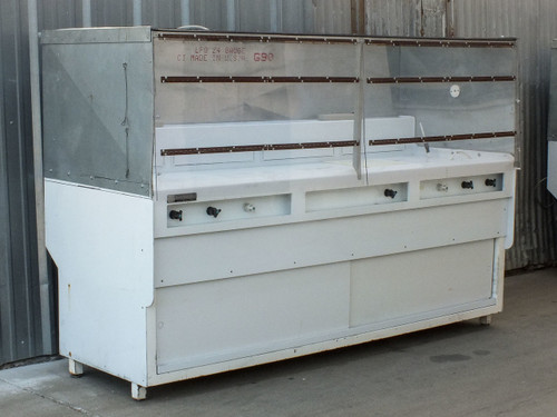 Terra Universal Multi-Station Acid Bath Wet Process Station Bench with Enclosure