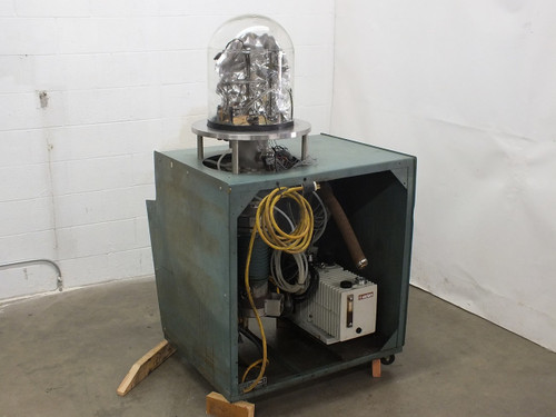 NRC 3114 Sputtering Chamber with Varian SD-700 Vacuum Pump