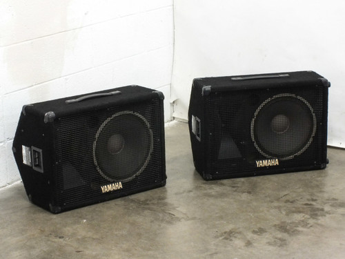Yamaha S12ME Pair of 12-Inch SE Series 2-Way Floor Monitors and PA Speakers