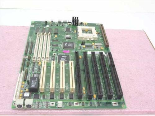 Triton 12209671-20 Pentium 1 Socket 7 System Board 4 ISA 4 PCI Slots