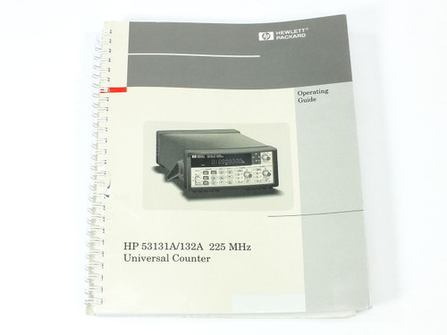 HP 53131A/132A 25 MHz Universal Counter Operating Guide