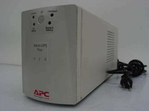 APC 420 VA Back-UPS Pro 420 UPS Power Backup (BP420S) - No Battery