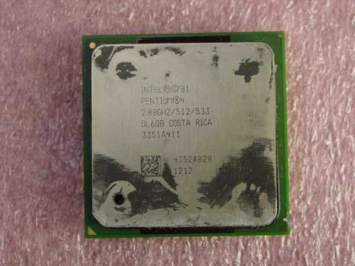 Intel P4 2.80 Ghz 512/533/1.53V Socket 478 (SL6QB)