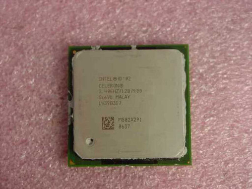 Intel Celeron Processor 2.40 Ghz/128/400/1.25v Socket 478 (SL6VU)