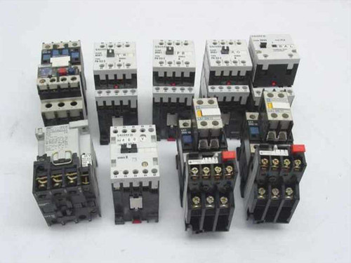 Square-D Telemecanique Lot of 9 Each Contactor Contact Attachment