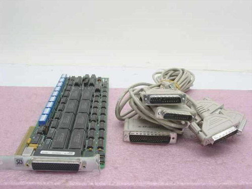 Digiboard 30000354 PC/8 Port ISA Adapter with Cable FSI 0002 (16C450)