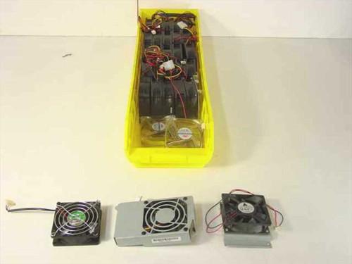 Various 12 Volt 0.19 - 0.23A Cooling Fan for Computer Cas Case Fan