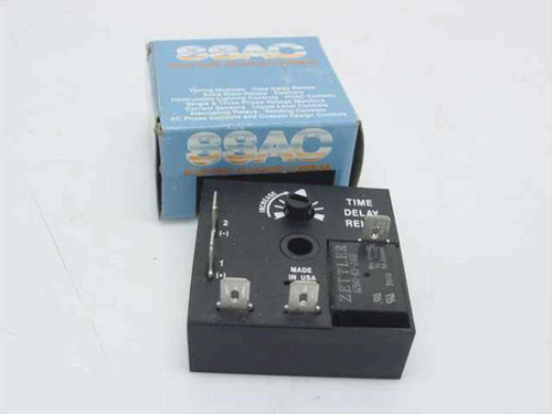 SSAC Time Delay - Solid State - 10A Res 120VAC 1-100 Mi KRD 1324