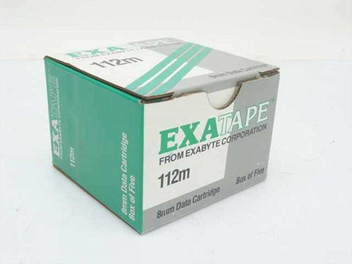 Exatape 8mm Data Cartridge - Box of 4 (112m)