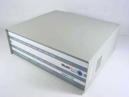 MultiTech 8 Channel Multimux16 & Integral 9600bps Modem (MM1608C/96)