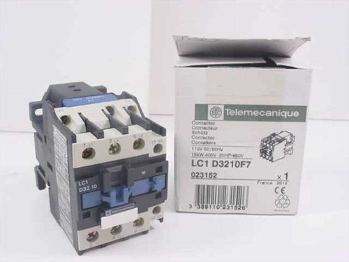 Telemecanique 32 AMP IEC 110 VOLT 50/60 HZ (LC1-D3210F7)