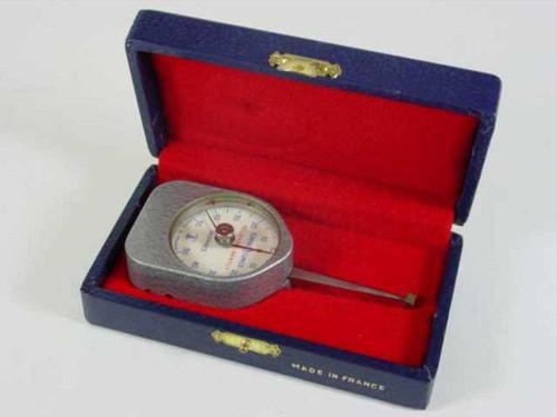 Scherr-Tumico Precision Dial Dynamometer 5-50 Grams 1.5 Inch Dia 62-6387-00