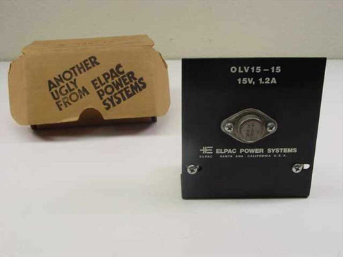 Elpac Power Supply 15V 1.2A Out (OLV-15-15)