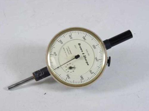 Brown & Sharpe Indicator .001 Inch 1.000 Inch Range 8241-941