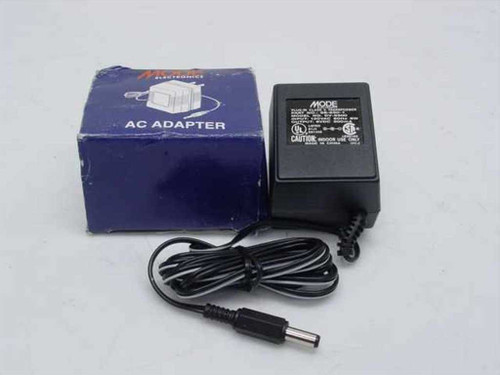 Mode Electronics AC Adapter 6VDC 500mA - Barrel Plug  DV 6500
