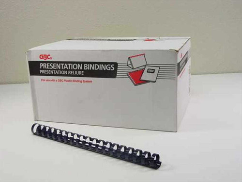 "GBC 3/4"" Navy Plastic Binding Combs - 82 pcs. (4014185)"