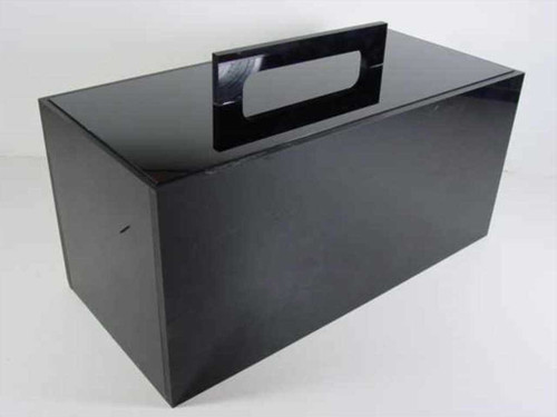"Plexiglass Dry Box with 3 5""x7""x7"" Compartments & Handle 16"" x 7"" x 7"""