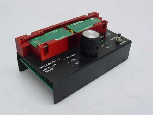 RDJ Controls Resbox with Guzik Extender Controller Boards Model 400