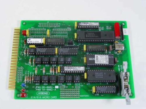Hybond 8 Bit ISA 614/616 Micro Card (PWA 20-0002 PWB 10-0002-A)