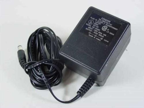 Condor AC adapter 9VDC 500mA Barrel Plug (D9500)