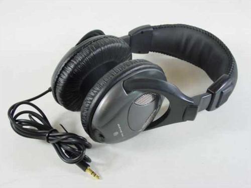 "Rave-MP Stereo Headphones 1/8"" Jack Black"