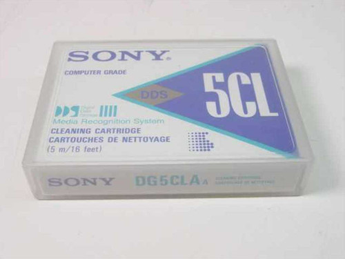 Sony Media Recognition System Cleaning Cartridge (DG5CL)