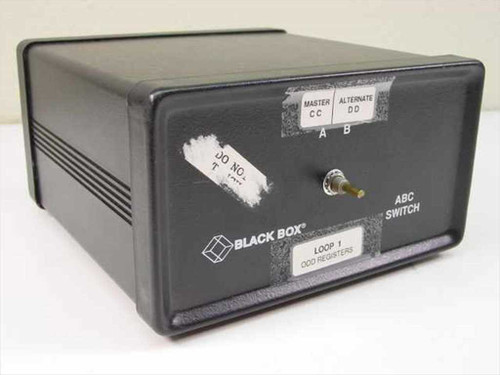 Black Box ABC Switch - 25-Pin Parallel / Serial 1-to-2 Manual SW023A-FFF