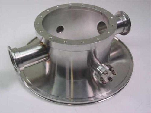 MDC 9.5 Inch Vacuum Chamber Flange Pass-through 4 Ports
