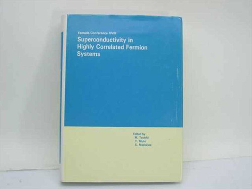 Tachiki, M. et al. Eds. North-Holland 1987 Superconductivity in Highly Correlate
