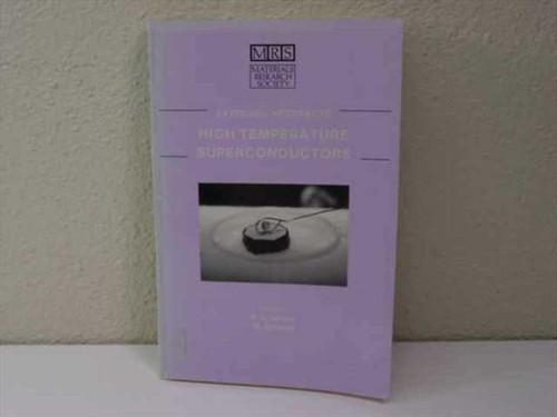 Gubser, D.U./ Schluter, M Materials Research Society