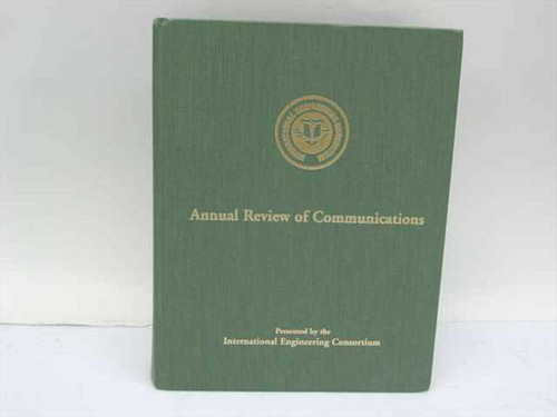 International Engineering Consortium ISBN 0931695024 Annual Review of Communicat