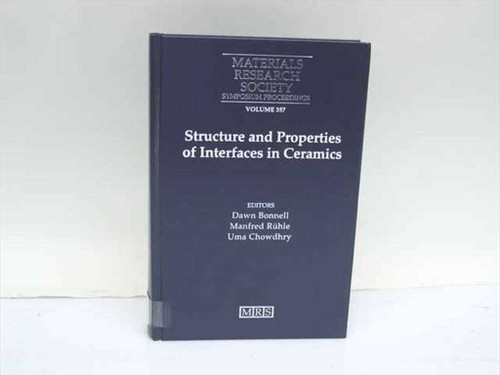 Bonnell, Dawn, et al Eds. Materials Research Society 1995