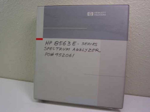 HP User's Guide (8560 E-Series Spectrum Analyzer)