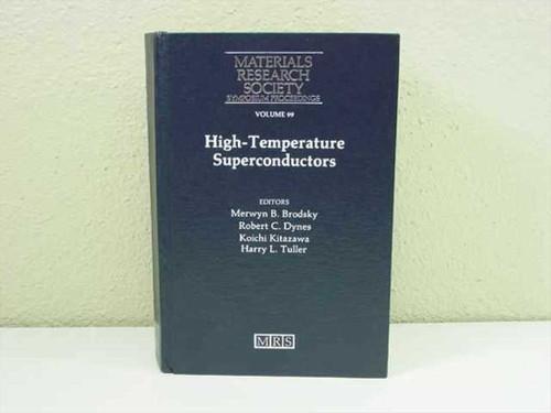 Brodsky, Merwyn B., et al Materials Research Society, 1988