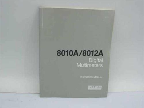 Fluke 8010A/8012A Digital Multimeters Instruction Manual (491944)