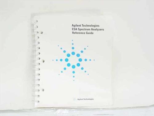 Agilent Technologies ESA Spectrum Analyzers Reference Guide (E4401-90237)