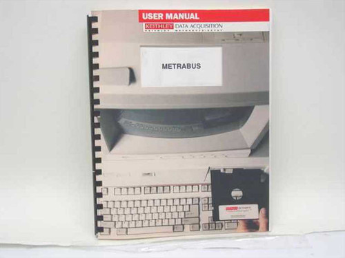 Keithley Metrabus Industrial Data Acquisition & Control System User Guide Only