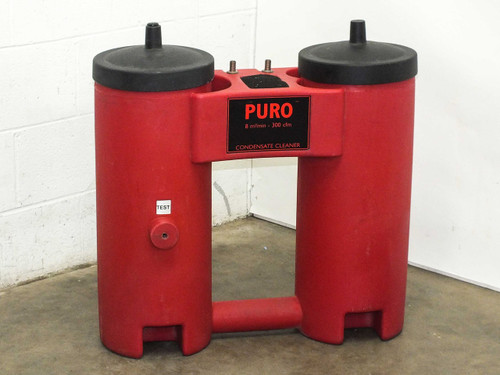 PURO 300 SCFM Condensate Cleaner Oil Water Separator (9509)