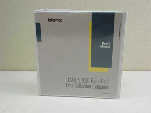 Intermec Janus 2020 Hand-Held Data Collection Computer User (062366)