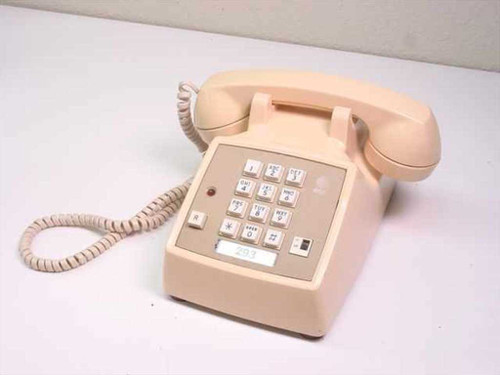 AT&T Single Line Telephone - Beige  2500DMGC-86241