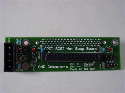 GNP Computers PDSi CPCI SCSI Hot Swap Board 1-502368
