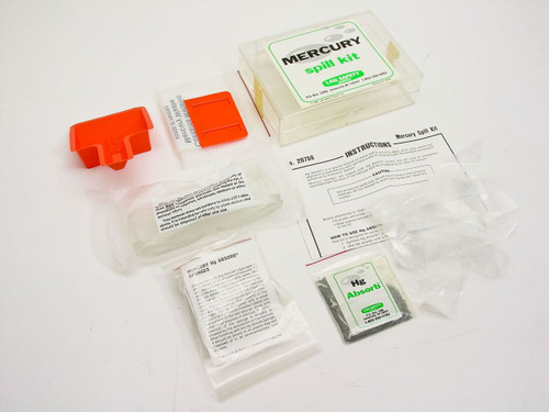 Lab Safety Supply Mercury Spill Kit (20759)
