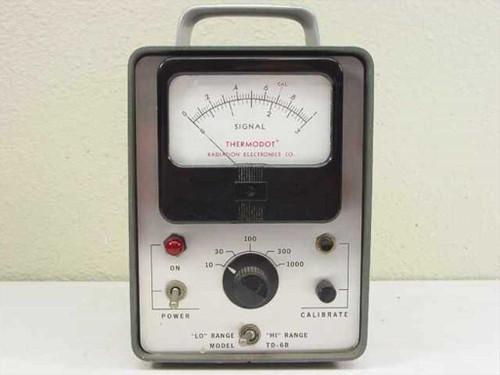 Radiation Electronics Thermodot Heat Sensing Gauge (TD-6B