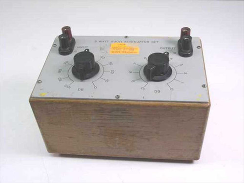 Hewlett Packard 5 Watt 600 Ohms Attenuator Set (N/A)